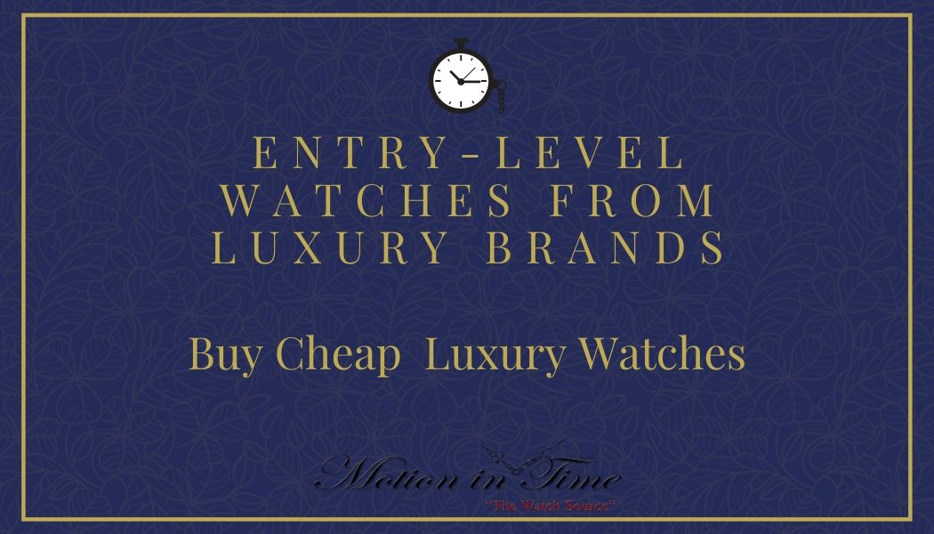 Buy Discounted Luxury Watches – Shopping Guide